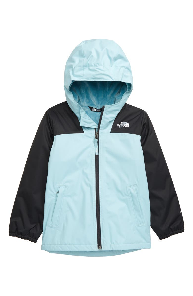 THE NORTH FACE Warm Storm Hooded Waterproof Jacket, Main, color, WINDMILL BLUE