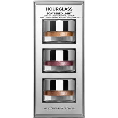 Hourglass Travel Size Scattered Light Glitter Eyeshadow Set - No Color