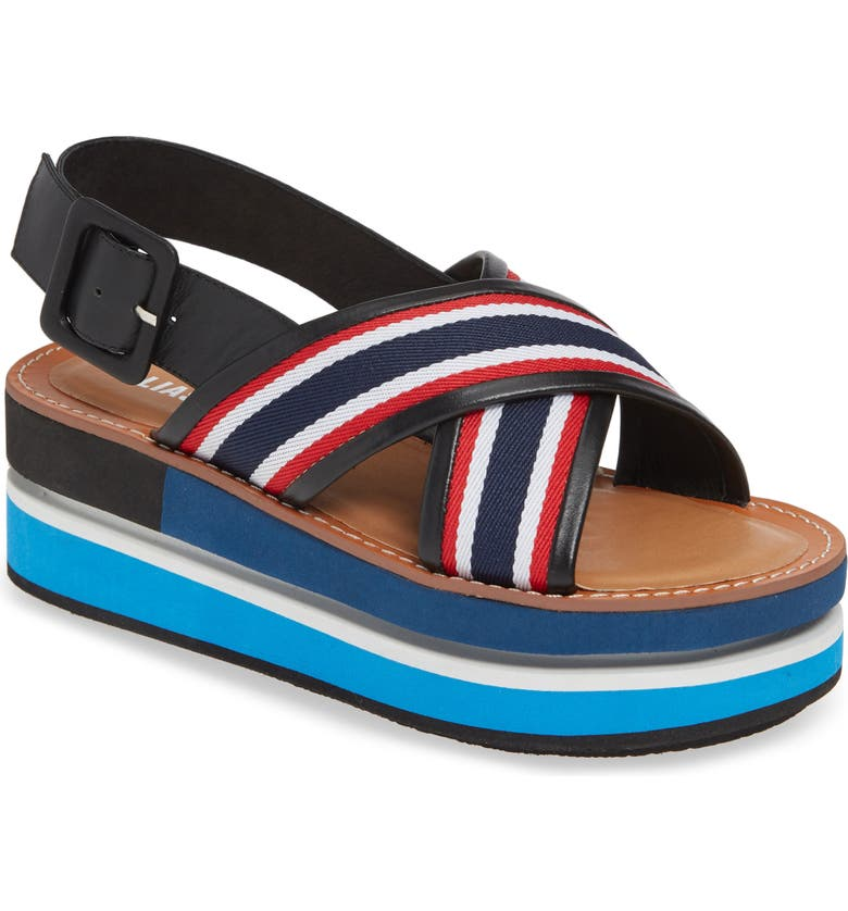 ALIAS MAE Mia Platform Sandal, Main, color, BLUE