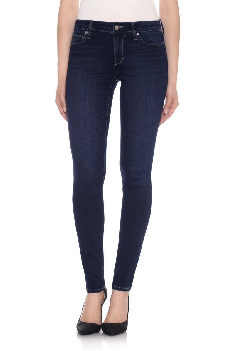 JOE'S Honey Curvy Skinny Jeans, Main, color, 400