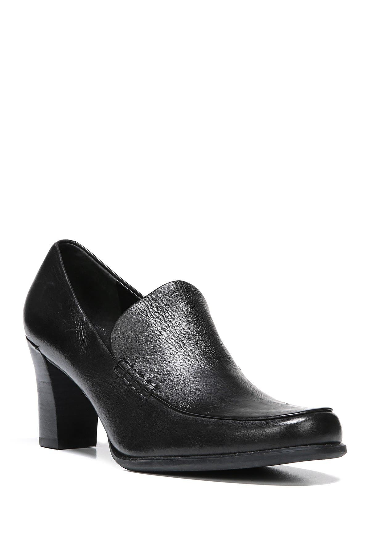 Image of Franco Sarto Nolan Block Heel Loafer - Multiple Widths Available