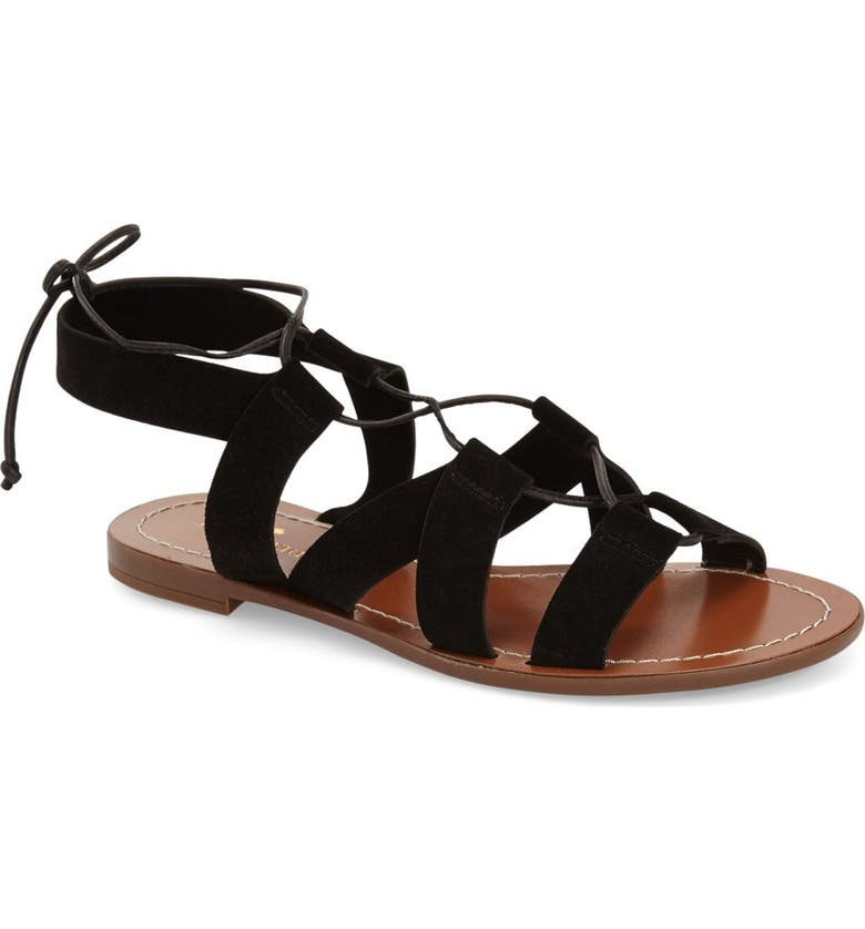 KATE SPADE NEW YORK 'suno' sandal, Main, color, 001