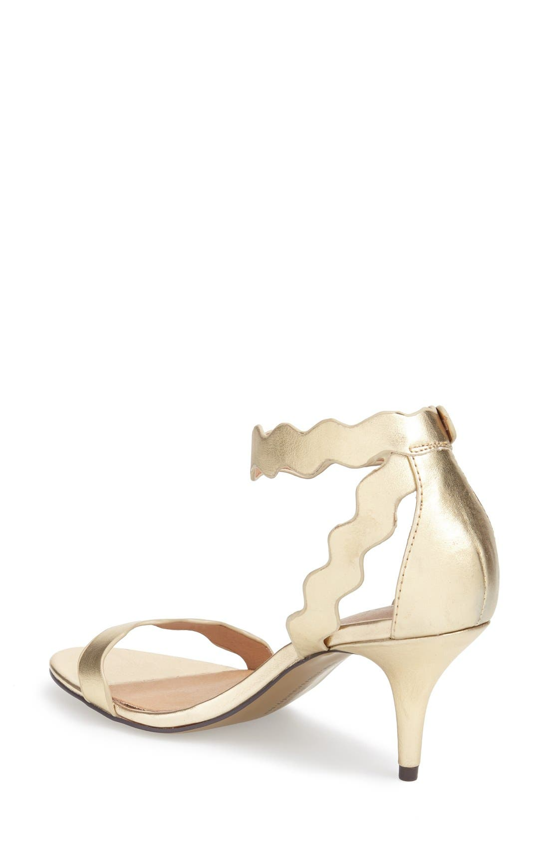 ,                             'Rubie' Scalloped Ankle Strap Sandal,                             Alternate thumbnail 16, color,                             710