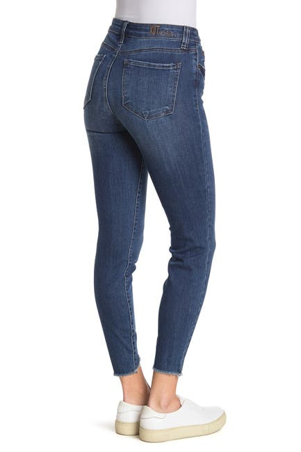 Image of KUT from the Kloth Carlo Ankle Crop Skinny Jeans