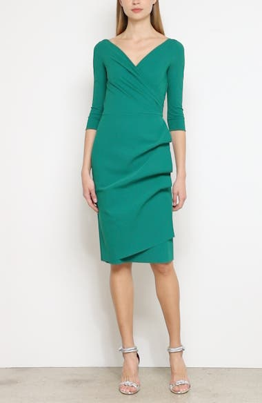 Florien Ruched Cocktail Dress, video thumbnail