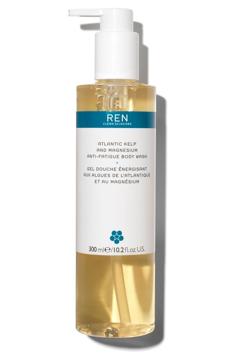 REN CLEAN SKINCARE Atlantic Kelp and Magnesium Anti-Fatigue Body Wash, Main, color, NO COLOR
