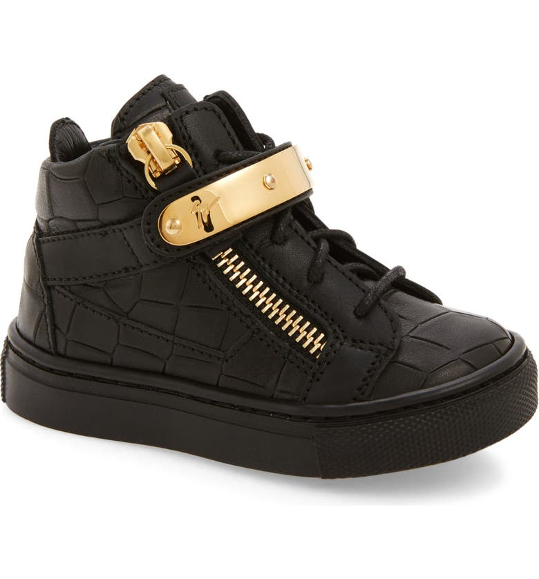 8f44ab4d9c521 Giuseppe Zanotti High Top Sneaker (Baby, Walker, Toddler & Little ...