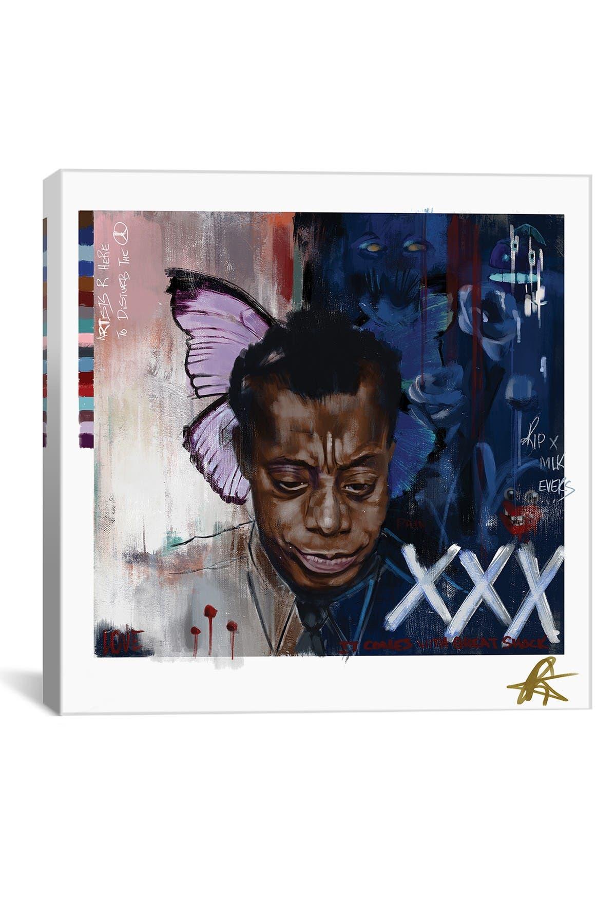 Image of iCanvas Baldwin I by Gordon Rowe