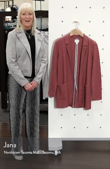 Knit Boyfriend Blazer, sales video thumbnail