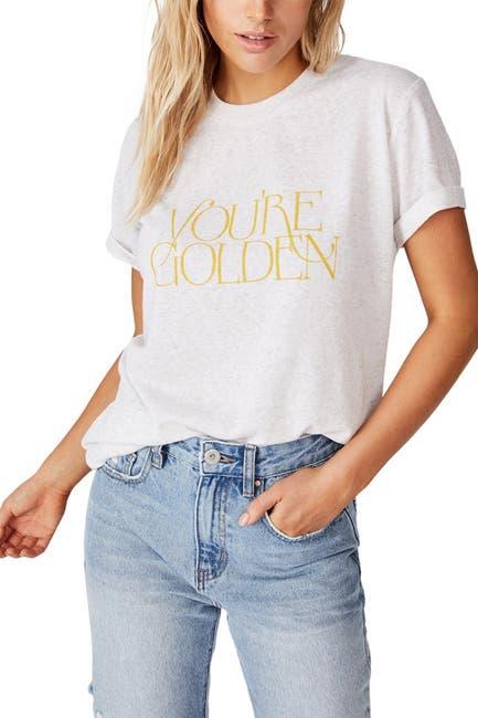 Image of Cotton On Classic Slogan T-Shirt