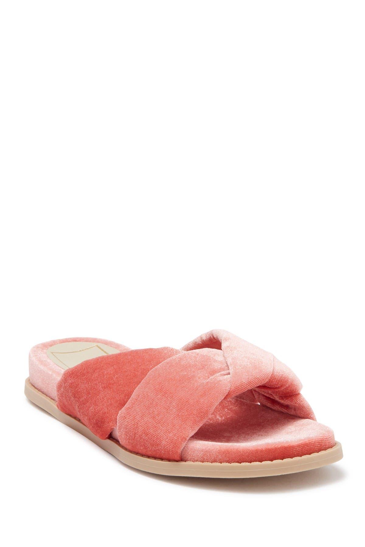 Image of Dolce Vita Golda Knotted Velvet Slipper