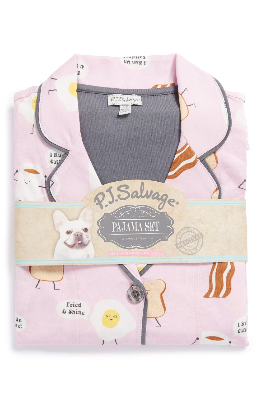 ,                             Print Jersey Pajamas,                             Alternate thumbnail 32, color,                             630