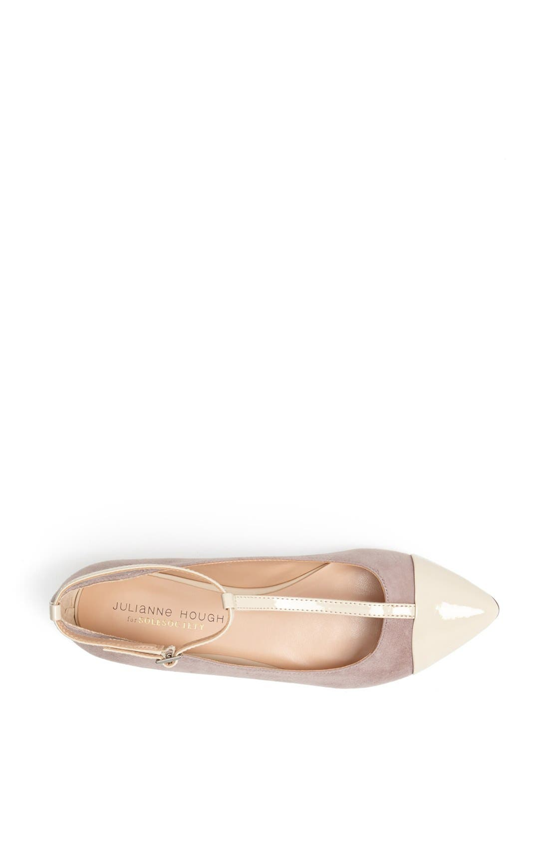 ,                             Julianne Hough for Sole Society 'Addy' Flat,                             Alternate thumbnail 10, color,                             060