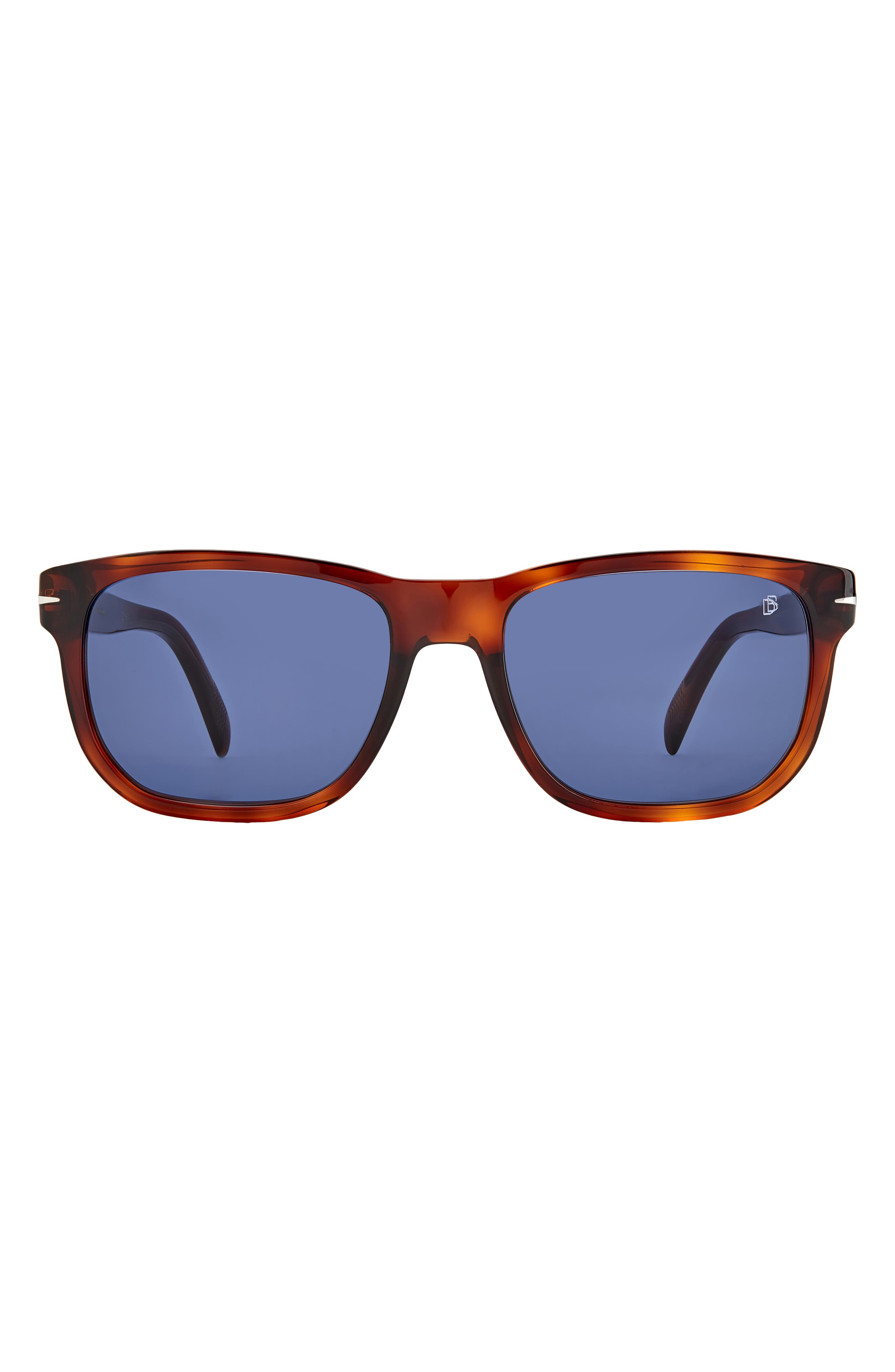 Men's David Beckham 54mm Rectangular Sunglasses