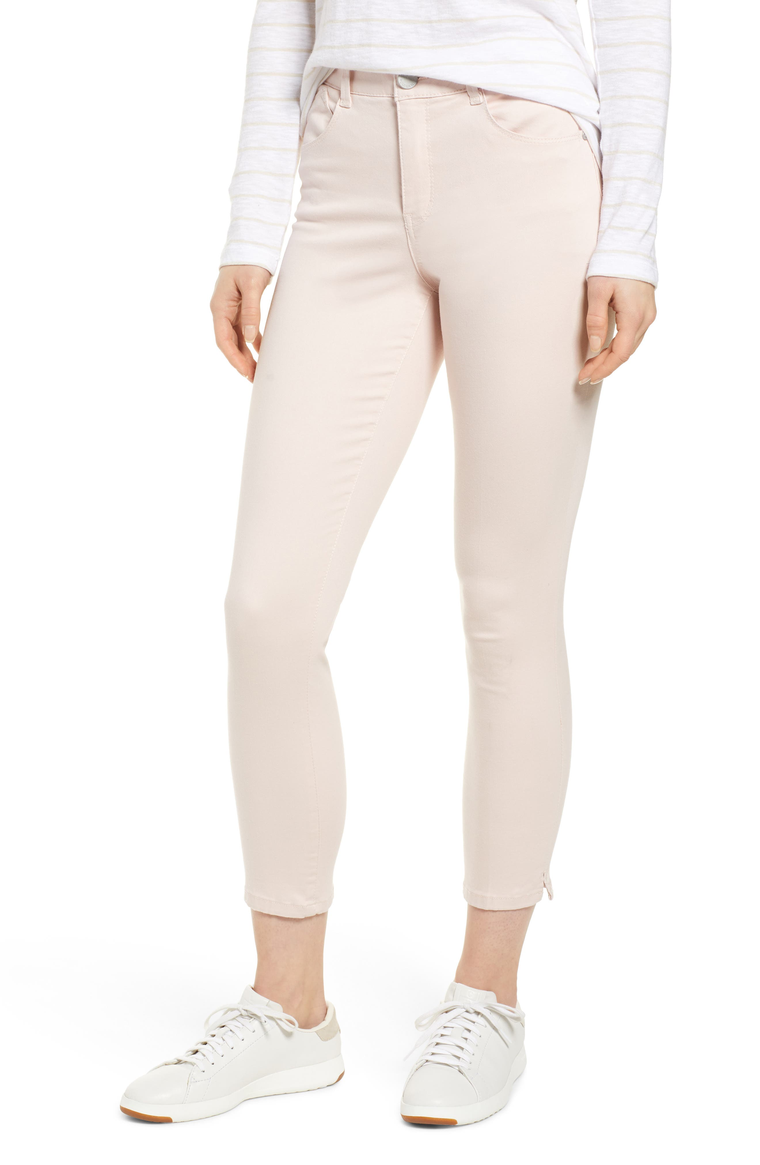 Wit & Wisdom Ab-Solution High Waist Ankle Skinny Pants (Regular & Petite) (Nordstrom Exclusive)