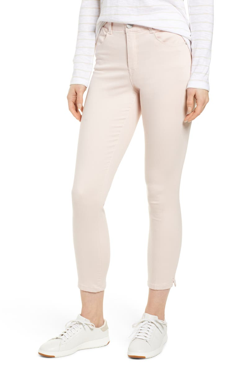WIT & WISDOM Ab-Solution High Waist Ankle Skinny Pants, Main, color, CRYSTAL PINK
