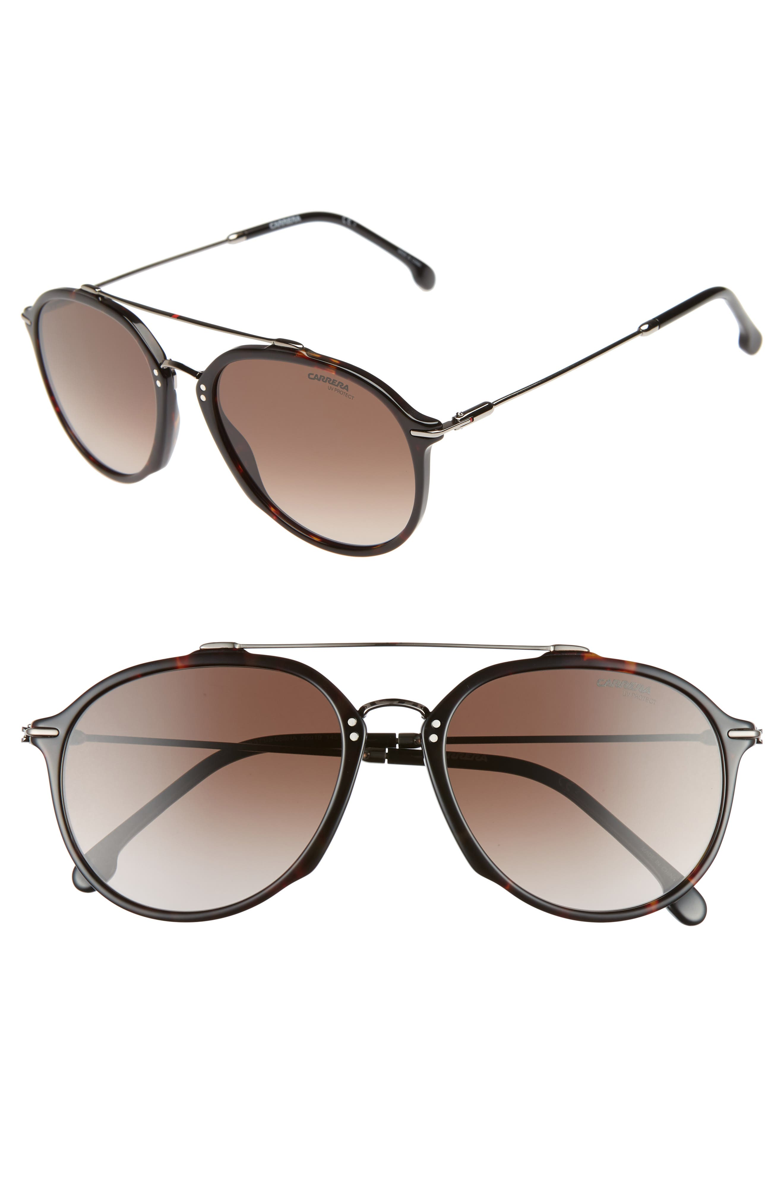 Carrera Eyewear 55Mm Round Sunglasses -
