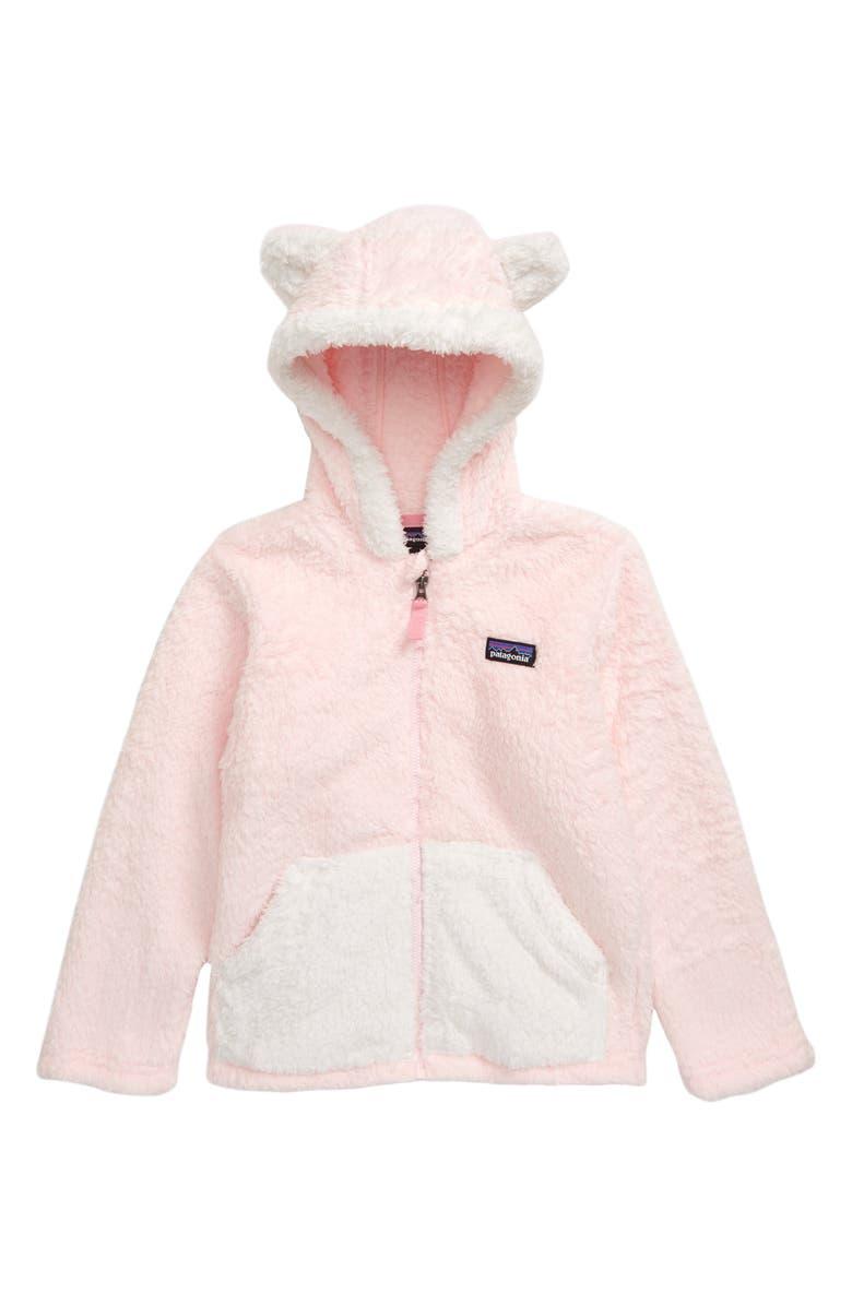 PATAGONIA Furry Friends Fleece Hoodie, Main, color, PRPI PRIMA PINK