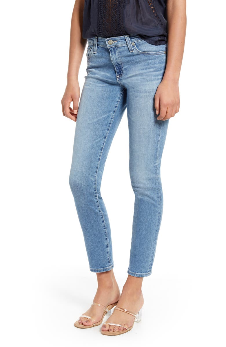 AG Prima Ankle Cigarette Jeans, Main, color, 24 YEARS STARK