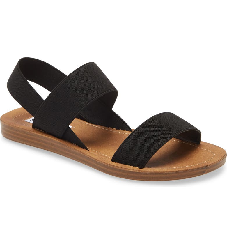 STEVE MADDEN Roma Sandal, Main, color, BLACK