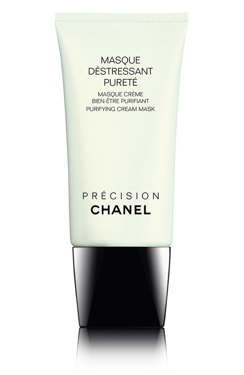 CHANEL MASQUE DÉSTRESSANT PURETÉ Purifying Cream Mask, Main, color, NO COLOR