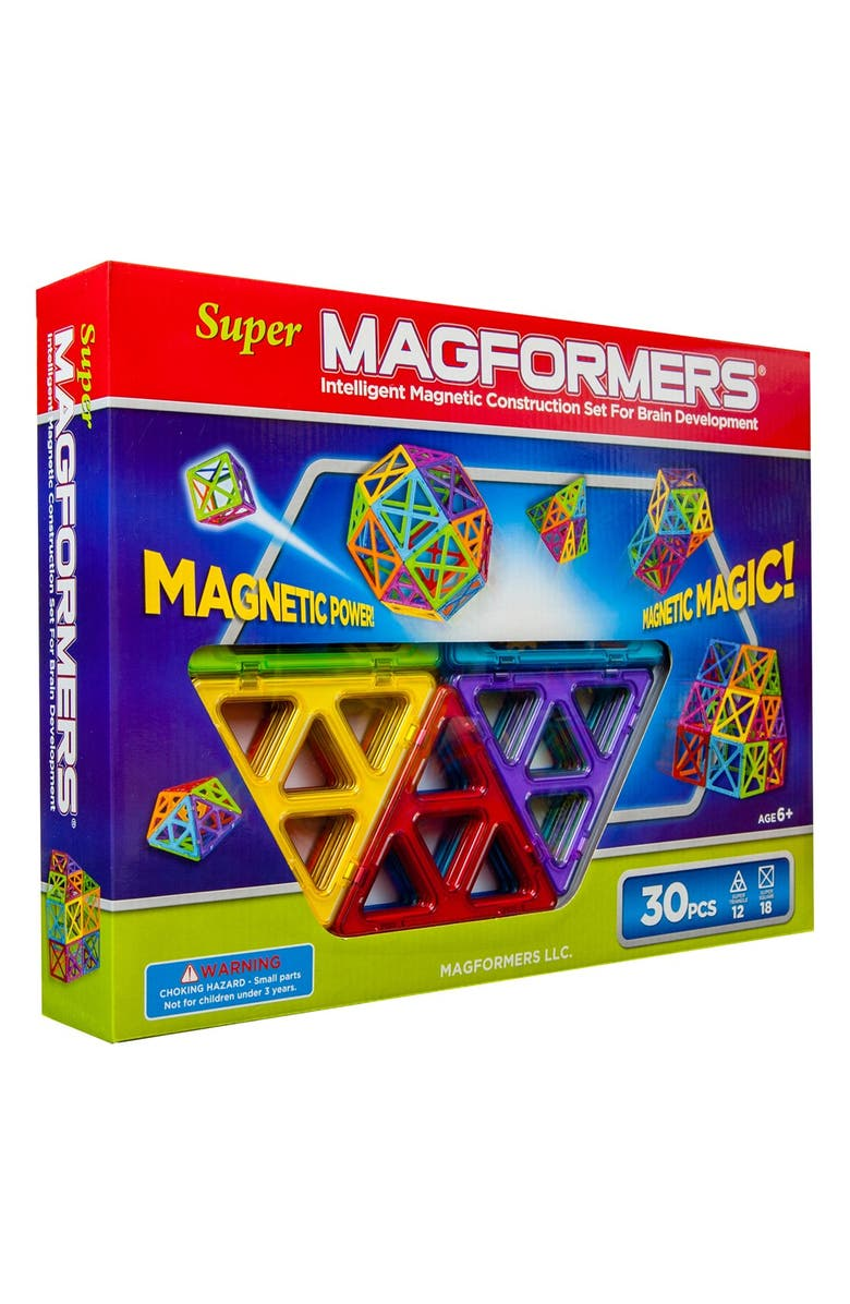 MAGFORMERS 'Super' Construction Set, Main, color, MULTI