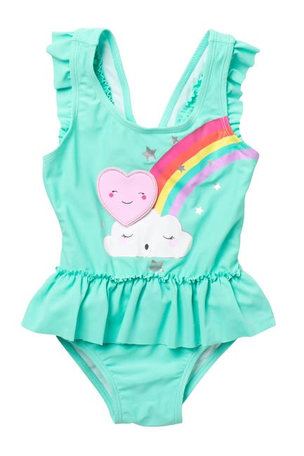 Image of Sol Swim Clear Skies One-Piece Swimsuit