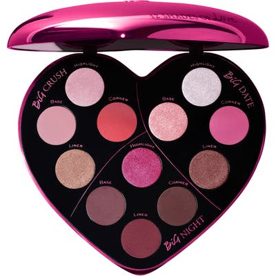 Lancome Monsieur Big Heart-Shaped Eyeshadow Palette - No Color