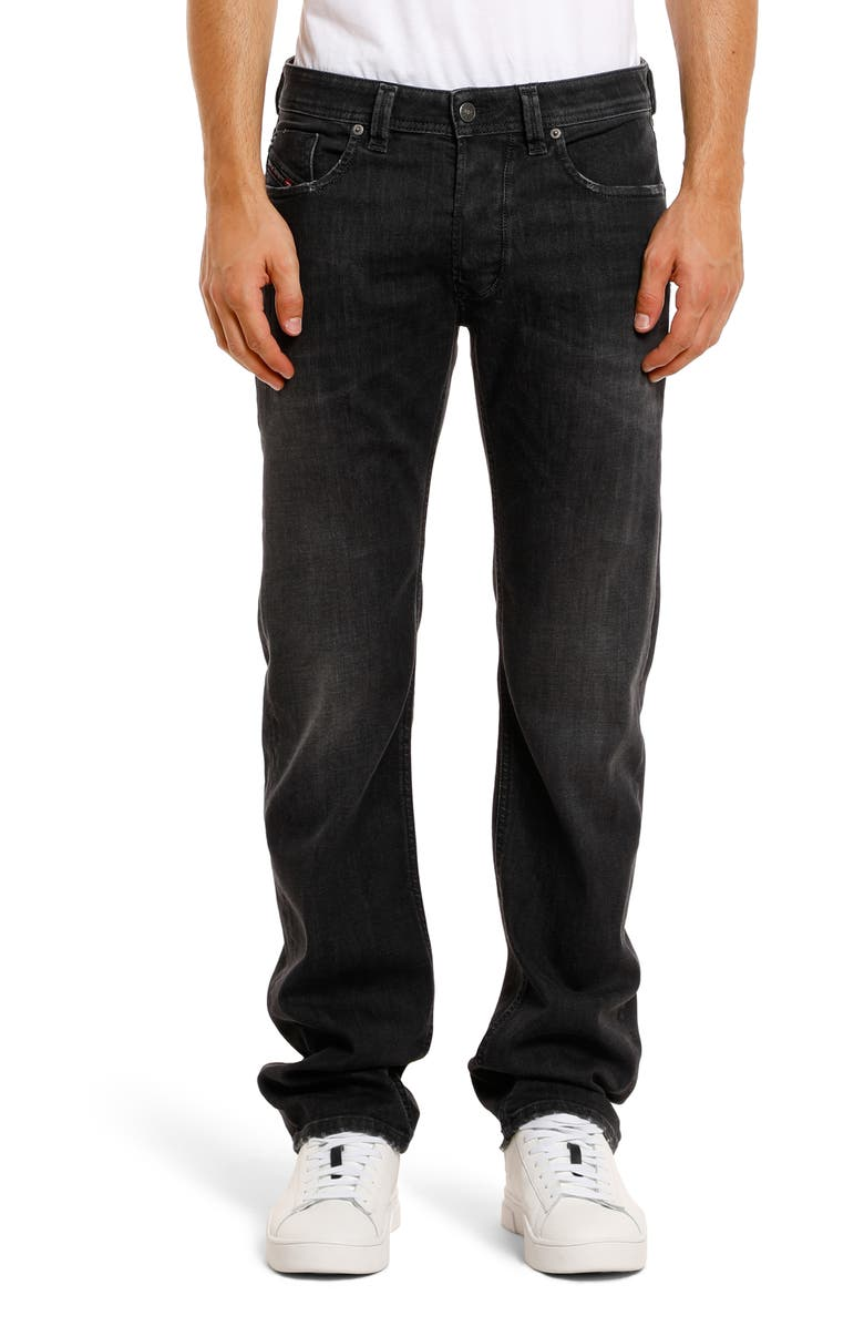 DIESEL<SUP>®</SUP> Larkee Relaxed Fit Jeans, Main, color, BLACK