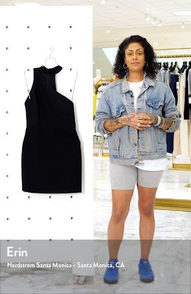 Skyla One-Shoulder Cocktail Dress, sales video thumbnail