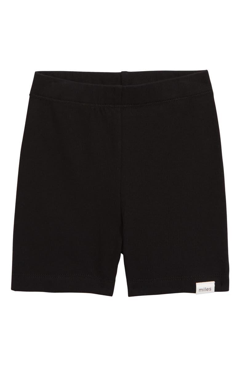 MILES baby Bike Shorts, Main, color, BLACK