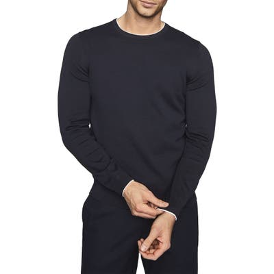 Reiss Justice Slim Fit Sweater, Blue