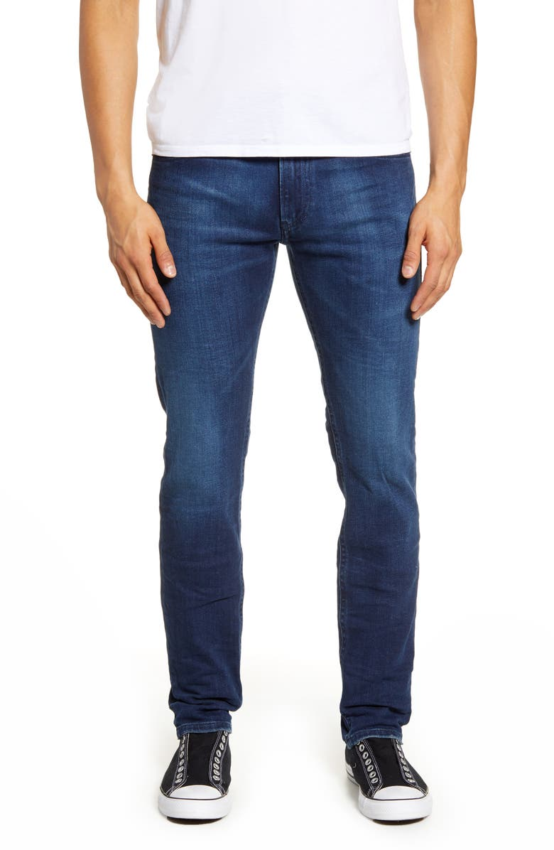 DIESEL<SUP>®</SUP> Thommer Extra Slim Fit Jeans, Main, color, 400