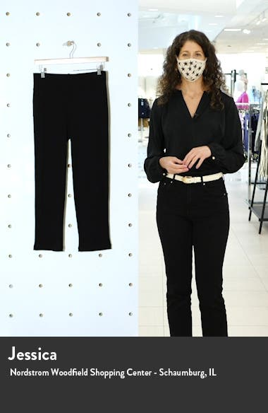Tapered Rib Ankle Pants, sales video thumbnail