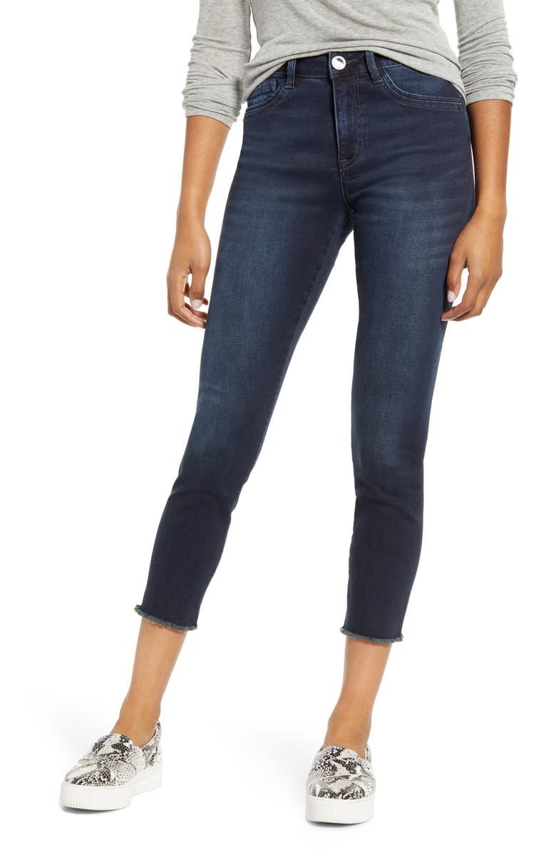 WIT & WISDOM High Waist Ankle Jeans, Main, color, IN INDIGO