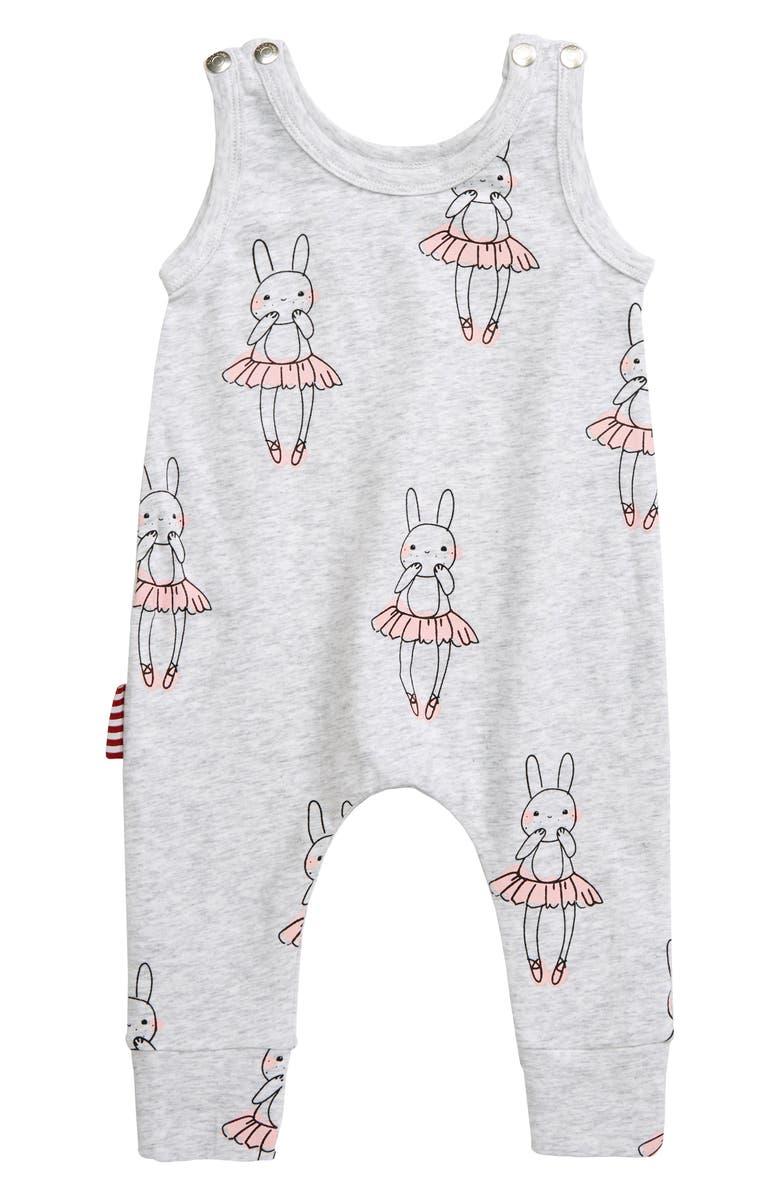SOOKIBABY Ballet Bunny Romper, Main, color, 020