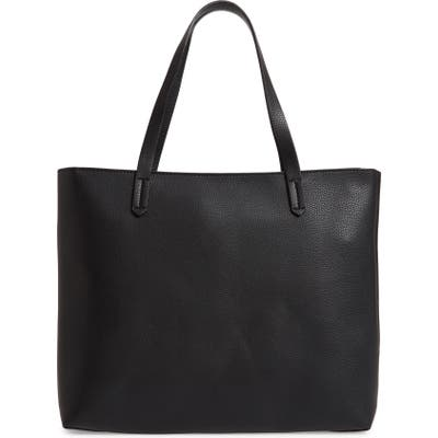 Bp. Faux Leather Classic Tote - Black