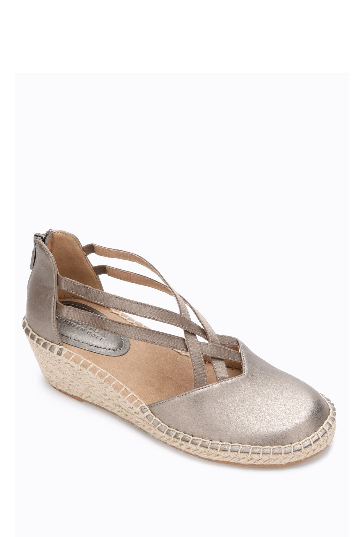 Image of Kenneth Cole Reaction Clo Espadrille Wedge Flat