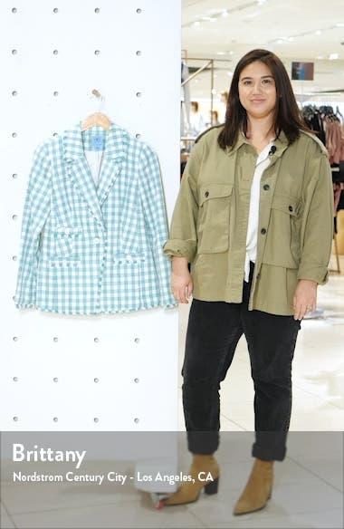 Gingham Tweed Jacket, sales video thumbnail