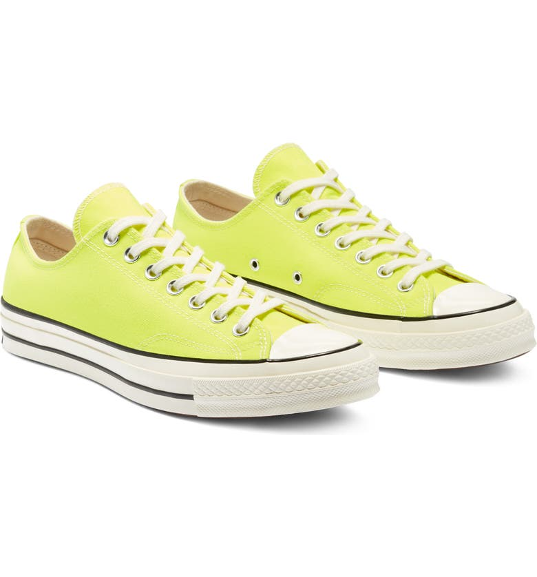 CONVERSE Chuck Taylor<sup>®</sup> All Star<sup>®</sup> Chuck 70 Ox Sneaker, Main, color, LEMON VENOM/ EGRET/ EGRET
