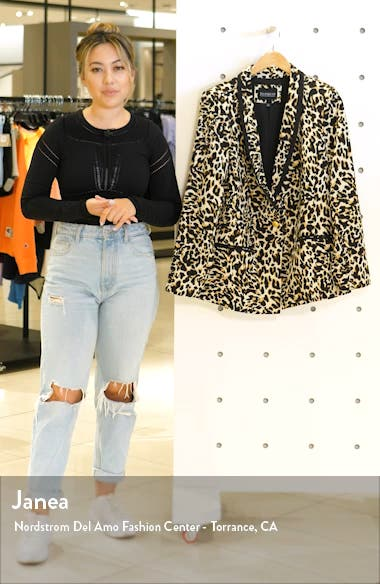 Leopard Suit Blazer, sales video thumbnail
