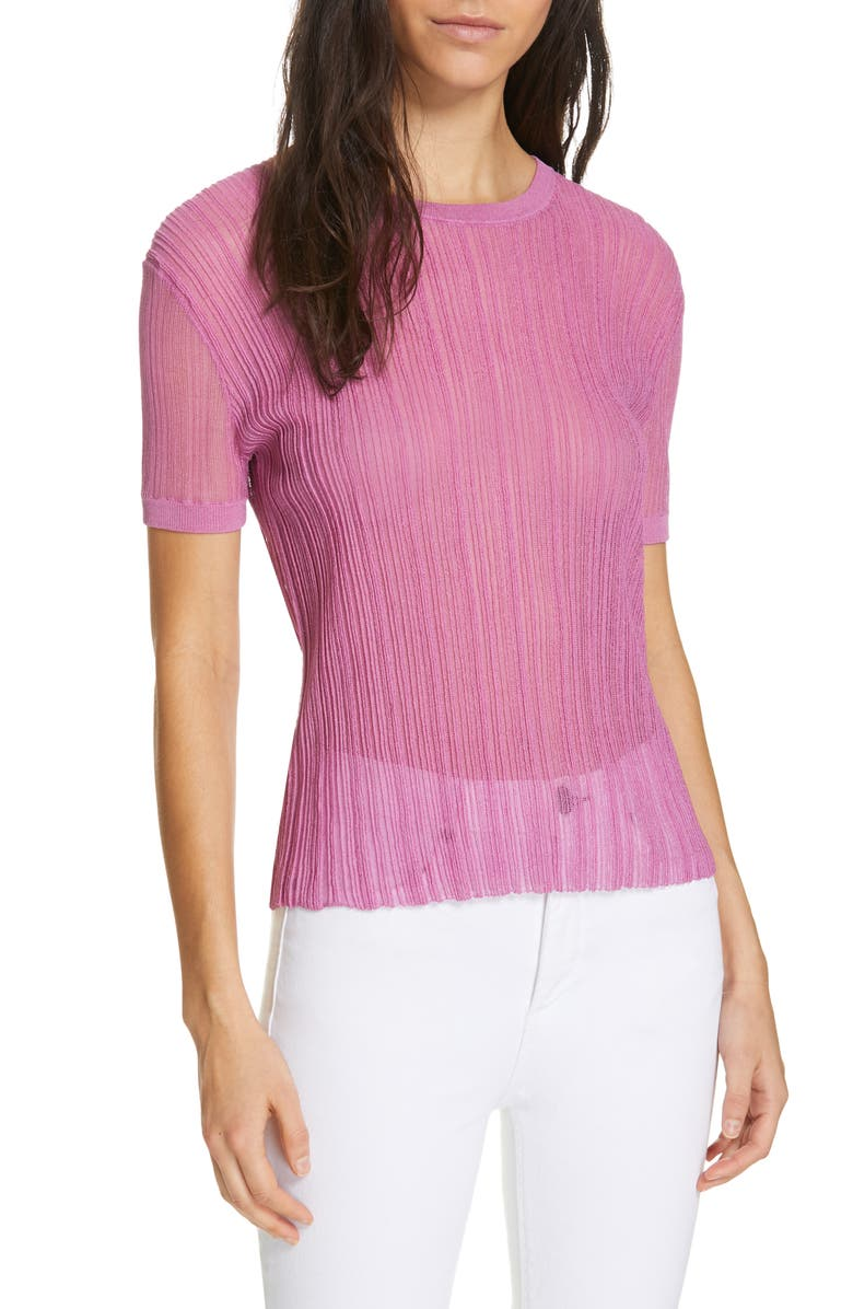 CHRISTIAN WIJNANTS Khloe Sweater, Main, color, PINK
