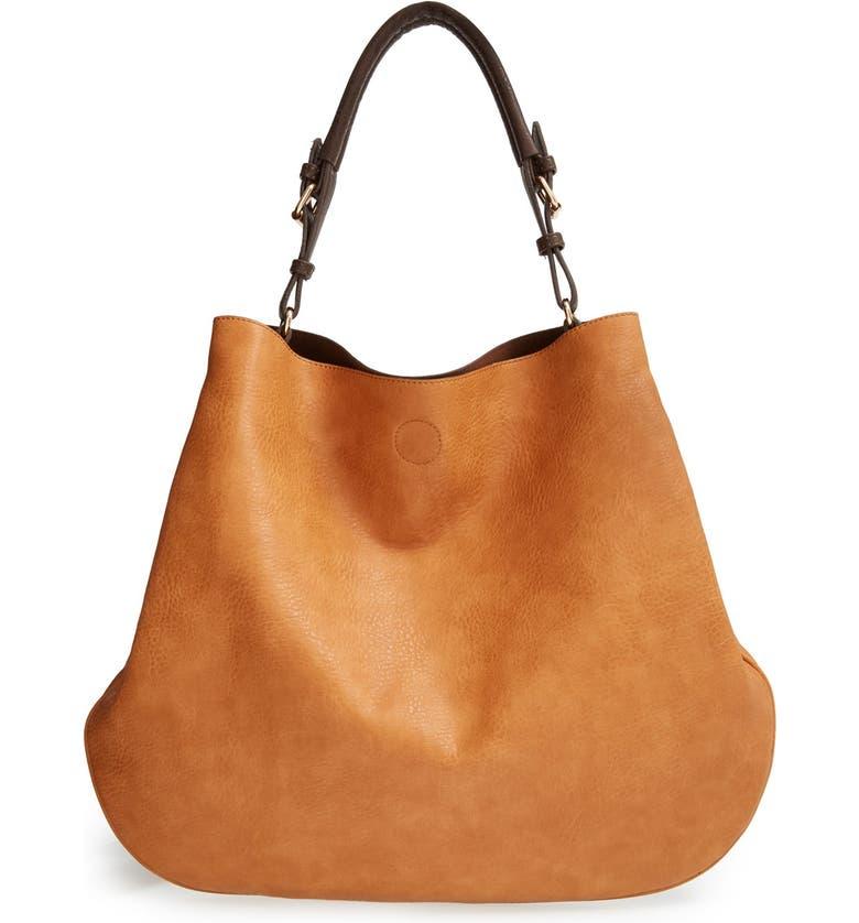 SOLE SOCIETY 'Capri' Faux Leather Tote, Main, color, 200