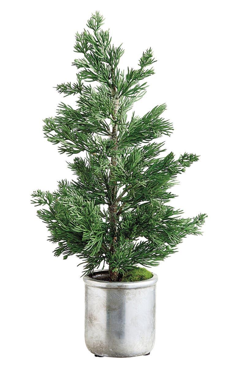 ALLSTATE Faux Juniper Tree in Pot, Main, color, 300