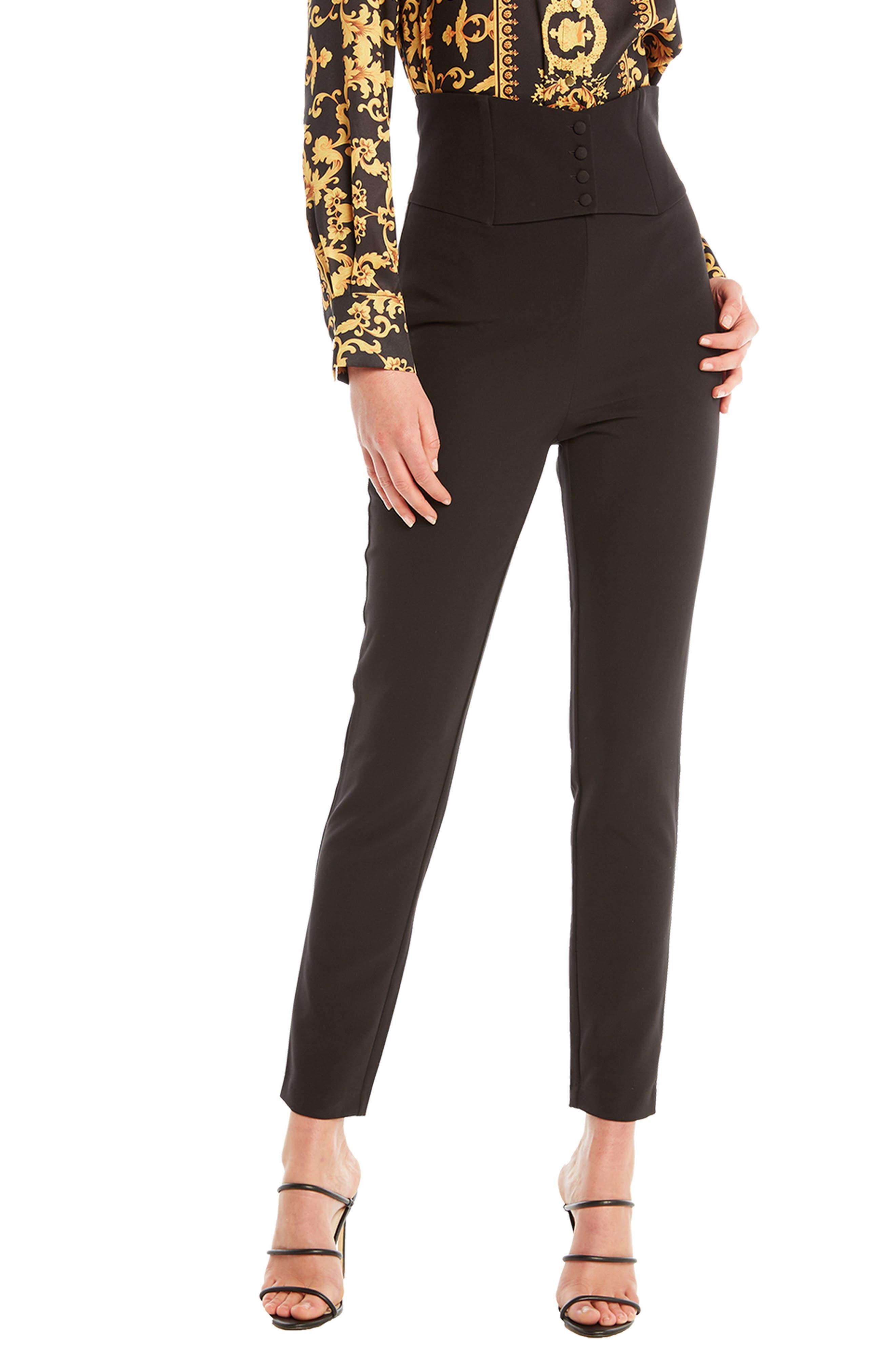 Women's Bardot Corset Crop Pants