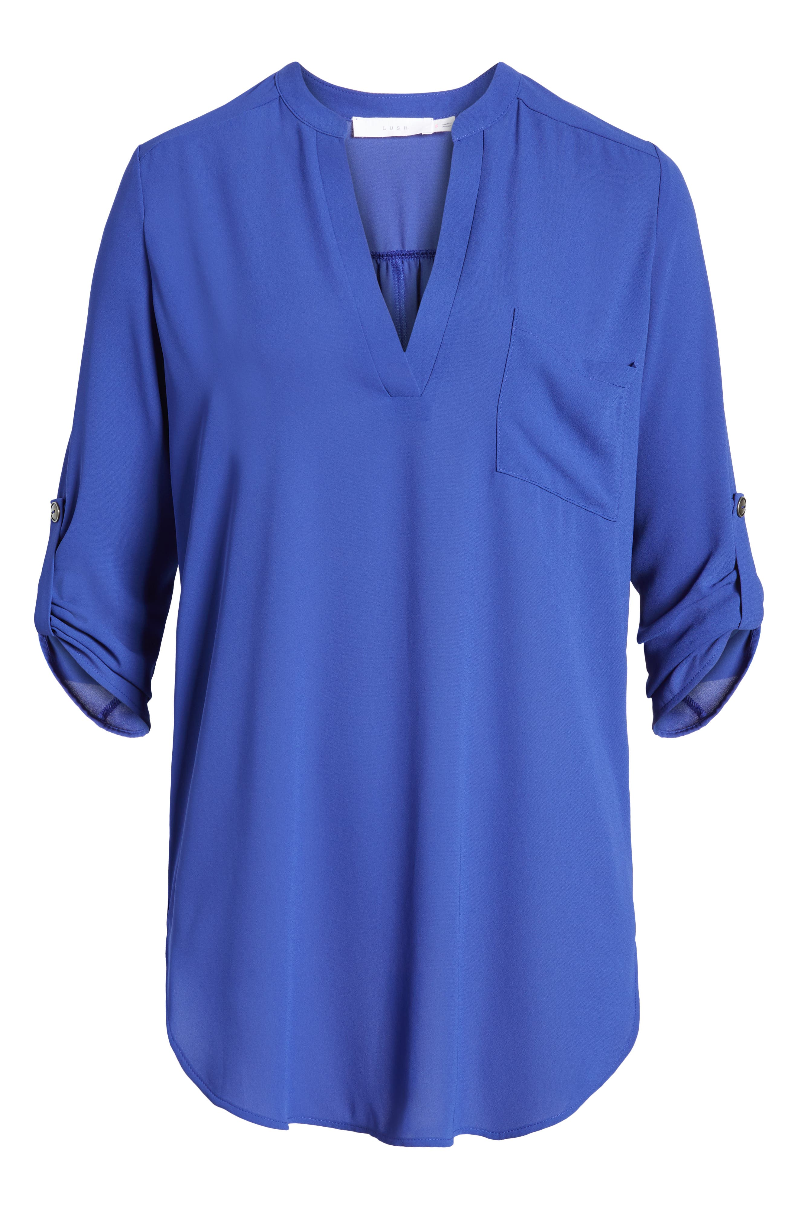 ,                             Perfect Roll Tab Sleeve Tunic,                             Alternate thumbnail 97, color,                             425
