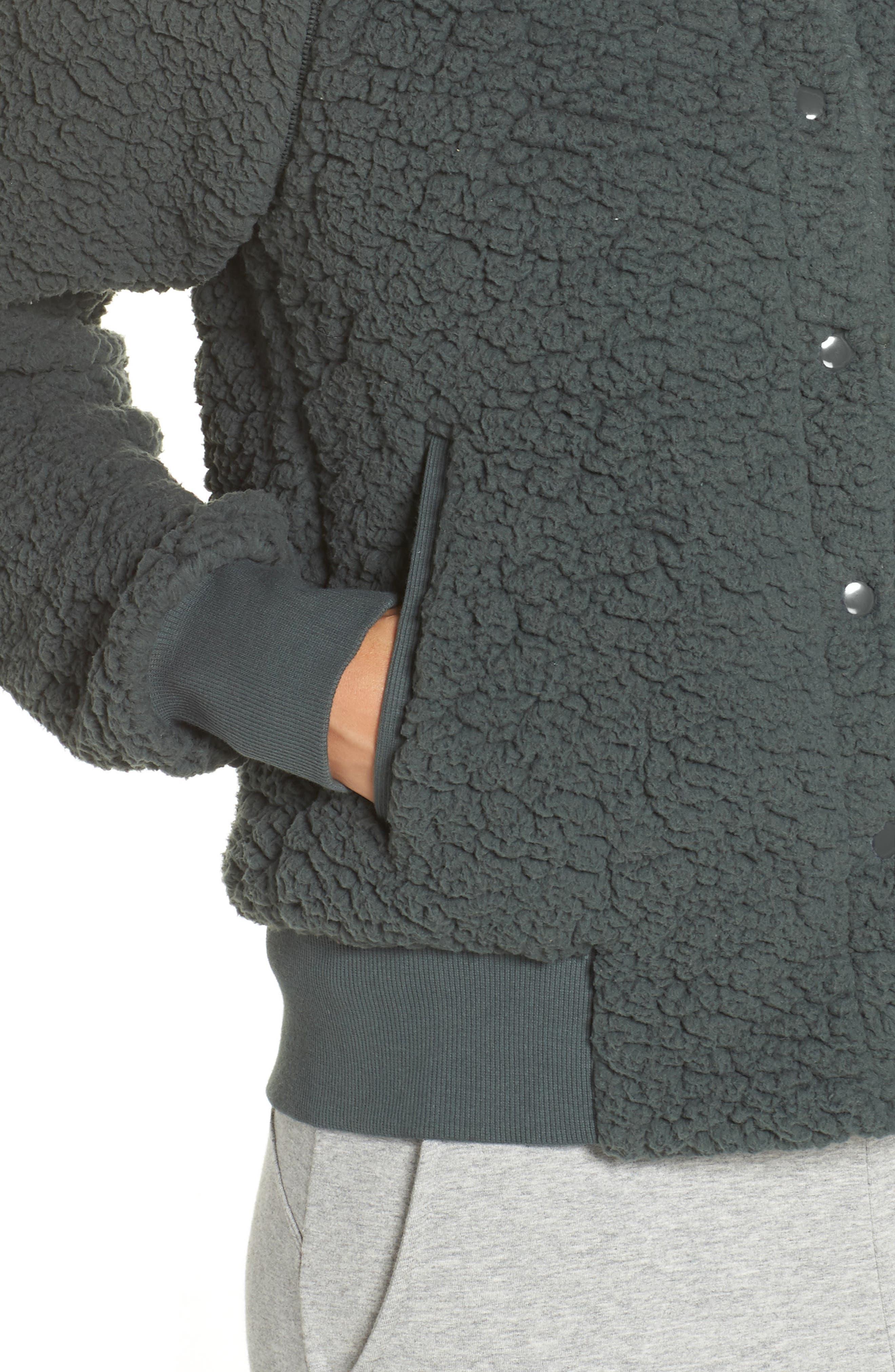 ,                             Cozy Up Bomber Jacket,                             Alternate thumbnail 11, color,                             021