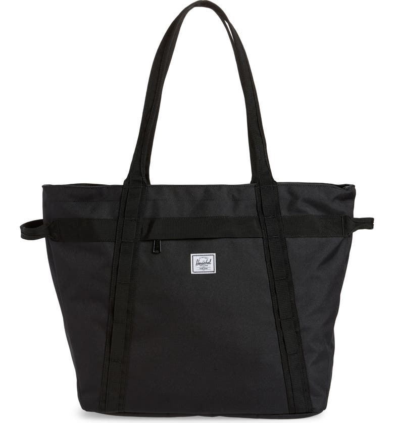 HERSCHEL SUPPLY CO. Alexander Tote Bag, Main, color, BLACK