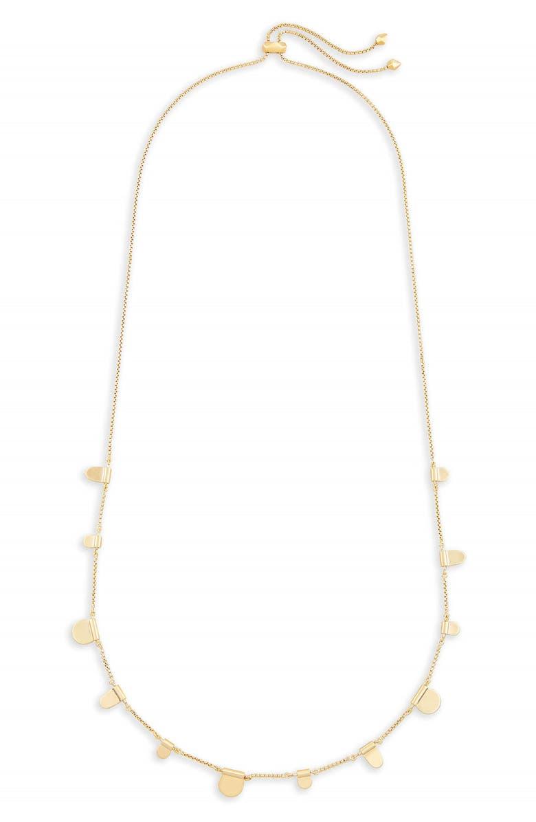 KENDRA SCOTT Olive Necklace, Main, color, GOLD