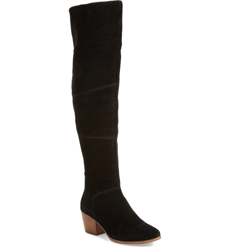 SOLE SOCIETY Melbourne Over the Knee Boot, Main, color, 003